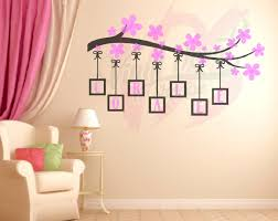 custom branch flower name wall decal