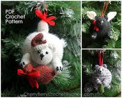 Crochet Christmas Ornaments Patterns Cool Ravelry Christmas Cats Ornaments Pattern By Cherry Berry Crochet