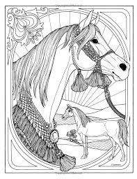 Coloring Pages Of Real Horses Copy Color Realistic Chronicles Network