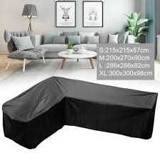 extra large l shape sofa cover garden