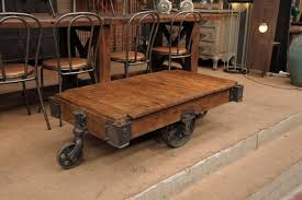 coffee table factory cart coffee coffee table industrial cart