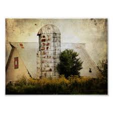 Quilt Posters | Zazzle & The Barn Quilt, Silo, and Sunflowers Poster Adamdwight.com
