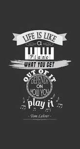 I love life and pianos