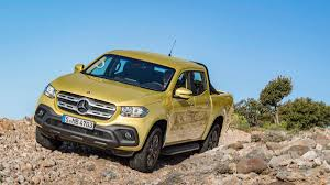 Yes, there's a Mercedes pickup truck. Here's why