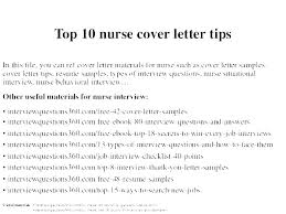 Cover Letter Registered Nurse Nursing Cover Letter Template Samples