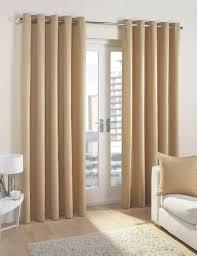 cuba ready made lined eyelet curtains