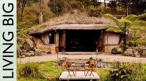 Houses Built Underground Magical Hobbit Like Eco Cave House Youtube