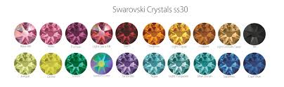New Crystal Colours