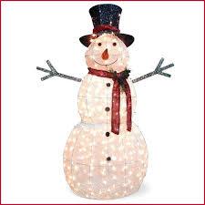 outdoor snowman decorations lighted a modern looks love Outdoor Snowman Decorations Lighted A