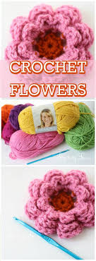 Easy Crochet Flower Patterns Free Beauteous Crochet Flowers 48 FREE Crochet Flower Patterns DIY Crafts