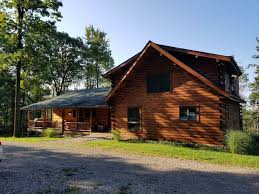 luxury 6 bedroom log home w hot tub close to 7 spring valley resorts