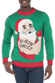 Men\u0027s North Swole Ugly Christmas Sweater - Boutiqify