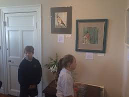 """Scoil Barra Naofa on Twitter: """"4th,5th&6th pupils ❤️ the 'Rooster'  exhibition by local artist (&parent) Terry Fitzgerald @ Ivan Wolfe Gallery!  #art http://t.co/LqyFKGyZBL"""""""