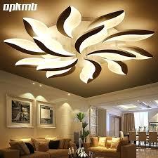 Flower Lights For Bedroom New Flower Acrylic Led Ceiling Light Modern  Living Room Ceiling Lamps Bedroom