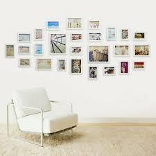 26 pcs wall mount photo frames multi