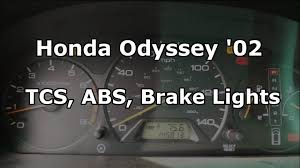 Abs Tcs Lights On Honda Accord Tcs Blink Codes Tcs Abs Brake Lights Honda Odyssey Forum