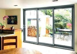 triple sliding glass door triple sliding glass door renewal by patio doors co triple sliding glass