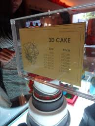 3d Cakes Are Served Picture Of The Harvest Patissier Chocolatier
