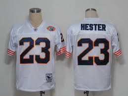 Hester Stitched Nfl Discount Mitchell Jersey Top No White Bears Ness In Devin And Quality 23 Big Sale