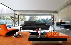Orange Couch Living Room Living Room Design Various Ideas For Creating Better First
