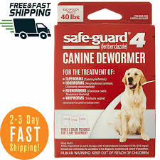Vetguard Plus Dosage Chart Dog Puppie Safe Guard Canine Dewormer 8in1 For Large Dogs 4 Gram Wormer Products