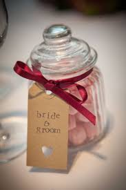 Vintage sweet jar Wedding favour. Bon Bons.