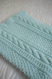 Free Knitting Patterns For Baby Blankets Simple Decorating