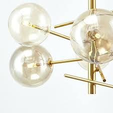 glass ball chandeliers 6 heads cognac glass ball pendant chandelier lighting gold stainless steel branch chandeliers glass ball chandeliers
