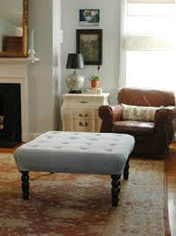 diy coffee table ottoman that looks good and is easy to make homedecorideas