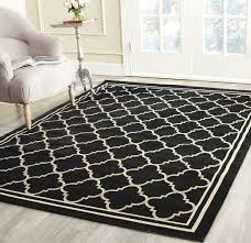 large size of square indoor outdoor rug inspirational safavieh courtyard collection black and of new photos