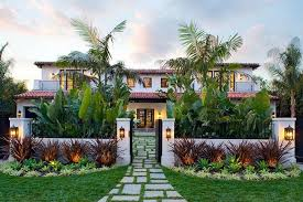 Beautiful Home Landscapes with so many styles of mediterranean home plans  at house plans and