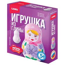 """Купить <b>Набор для изготовления игрушки</b> из глины """"Матрешка ..."""