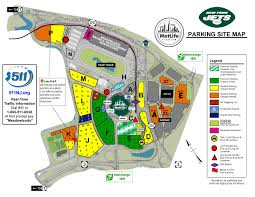 New York Jets Seating Chart Maps Diagrams