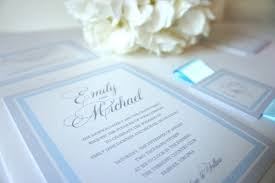 Light Blue Wedding Invitations Light Blue Wedding Invitation Sample Set Blue Wedding