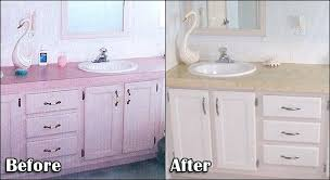 can you paint your countertops painting formica to look like marble faux granite