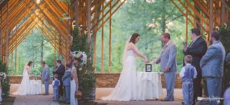 sand ceremony during fall wedding at the blecken pavilion at memphis botanic garden