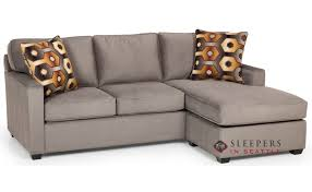 stanton 403 chaise sectional queen sleeper sofa with storage
