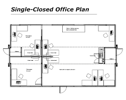 office plans and layout. Single Office Floor S And Big Plans Layout