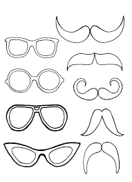 Small Picture Gallery For Photographers Mustache Coloring Pages at Children
