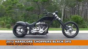 used 2013 hardcore choppers black ops motorcycles for sale