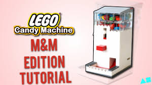 Lego Candy Vending Machine Cool Lego Candy Machine MM Edition Instructions Tutorial BrickUltra