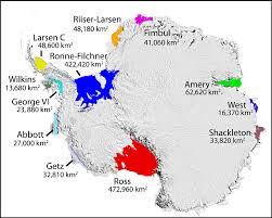 antarctic ice sheet growing quick facts on ice shelves national snow and ice data center