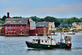 Fishing Boat Home from the Sea Photograph by Joanne Beebe