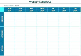 Weekly Menu Planner Template Excel – Thesoundmind