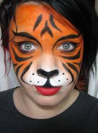 40 easy tiger face painting ideas for fun easy tiger face painting ideas fun