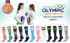 Newzill Compression Socks Size Chart Newzill Compression Socks Us Olympic Fencer Recommend For Men Women 20 30mmhg
