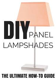 Diy Lampshades With Panel Frames 1 St File Lamp Shade Frame