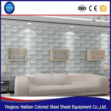 plastic pvc decor 3d embossed background panel board home inside 2017 3d plastic wall panels