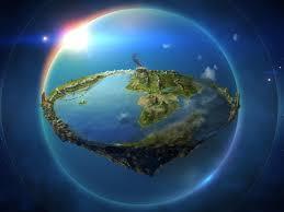 Flat earth illustration, Arda, The ...