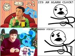 cereal guy blues clues. Brilliant Guy Blues Clues Meets Cereal Guy Intended Cereal Guy Clues R